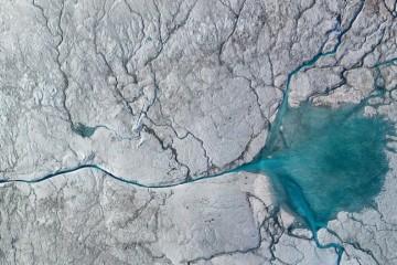 一条冰川河对格陵兰冰原和全球海平面上升的启示