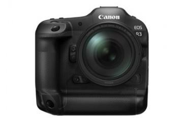 佳能宣布开发全画幅专微相机EOSR3首次搭载眼控对焦功能