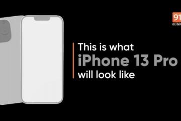 iPhone13Pro渲染图曝光苹果或为其加强续航与拍照性能