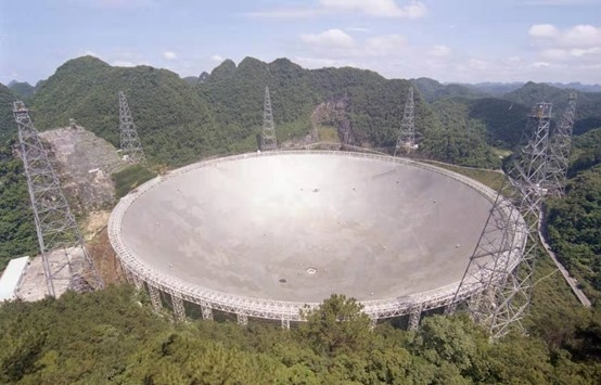 大数据发展看贵州中国天眼是如何建成的一场探索宇宙的浪漫冒险